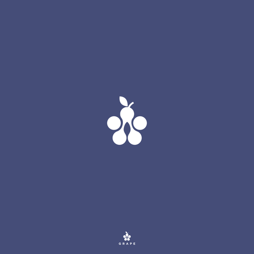 simple concept , brand-identity-pack, grape concept