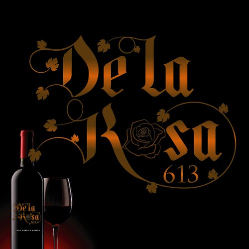 LOGO CONCEPT FOR DE LA ROSA 613