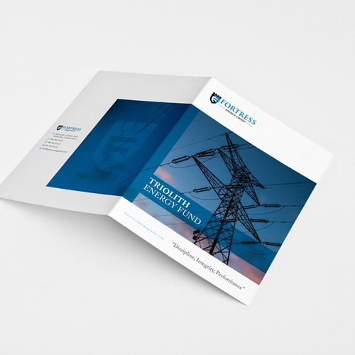 Start-up hedge fund brochure to investors, Fortress Energy Group