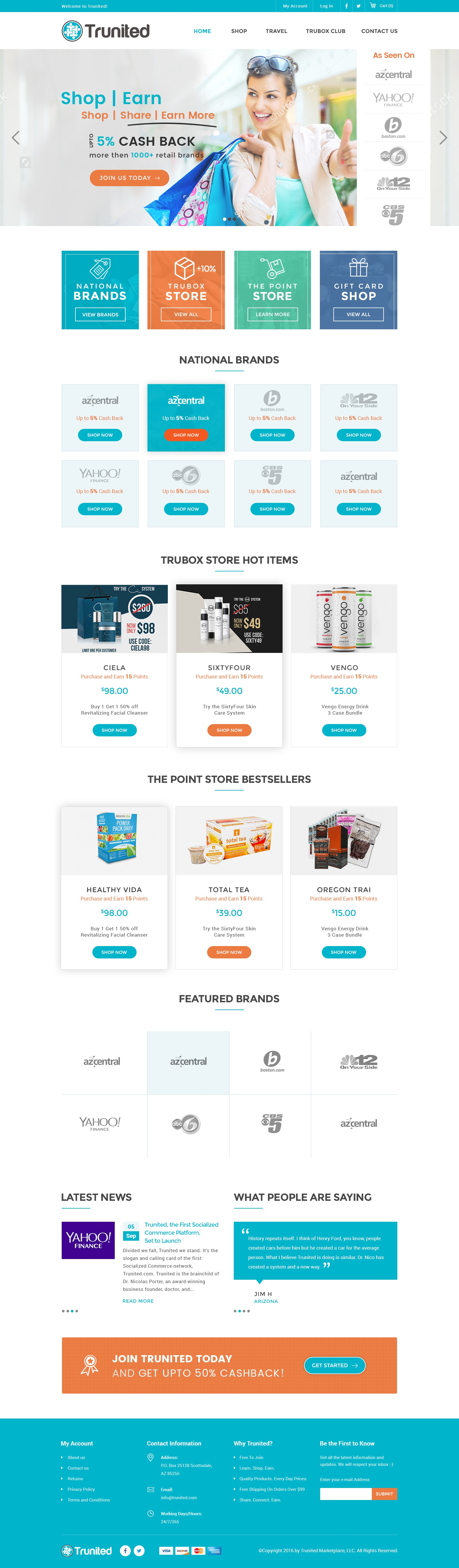 Don't Miss This - Change the Future of eCommerce - Homepage Redesign