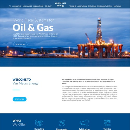 Oil & Gas consultant firm
