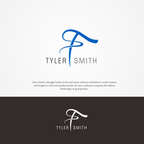 Create a standout personal brand logo for a thought leader