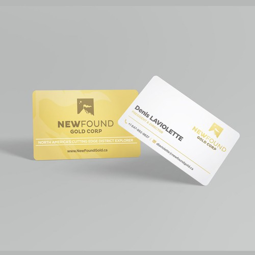 Business Card for New Found Gold Corp