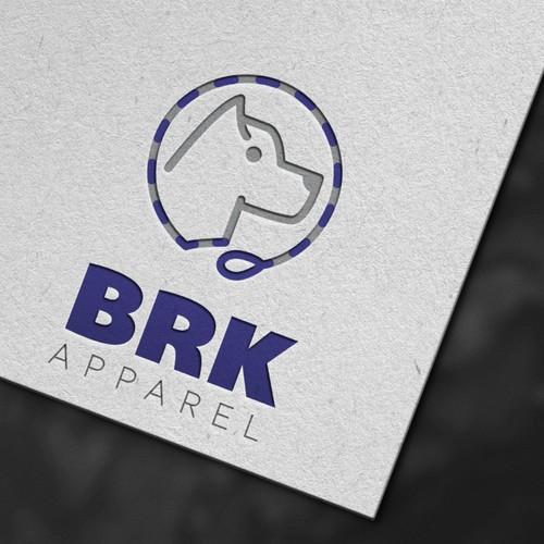 Logo design for Brk Apparel
