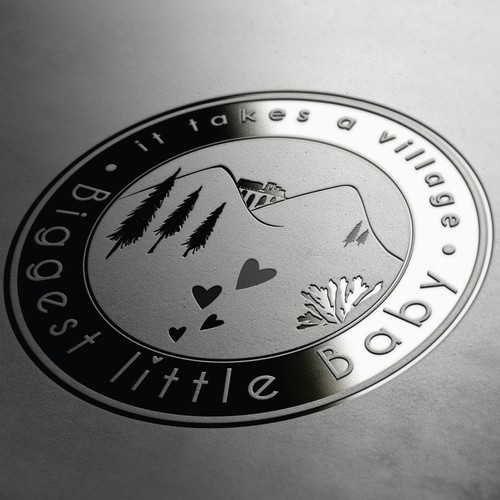 Logo for Biggest Little Baby, Baby Store/Support Center