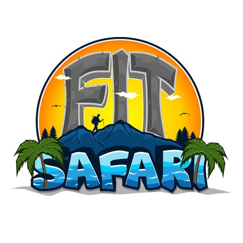 Fit Safari needs an illustrated adventure logo!