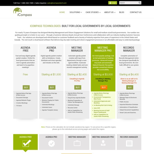 iCompass - Growing SaaS Company