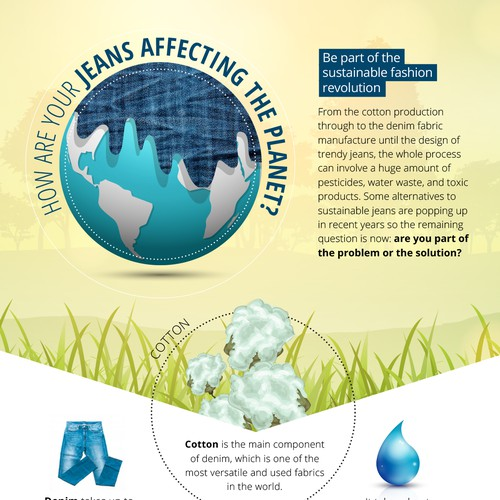 Jeans infographic