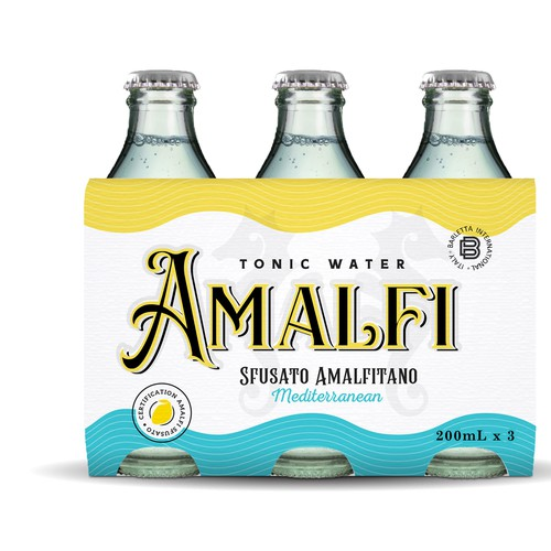 Summer Amalfi look for tonic water