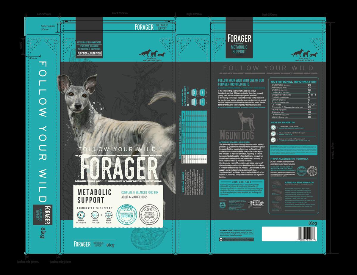 African Forager Dog food range