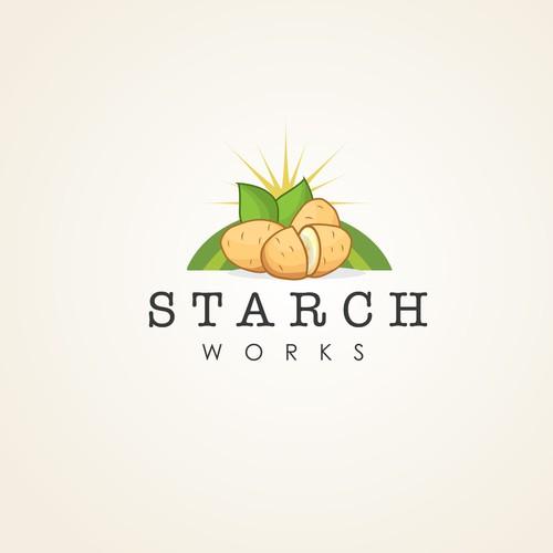 Clean Concept for a business that promotes a low fat vegan lifestyle