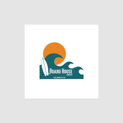 Board House Coffee T-Shirt Logo No.1