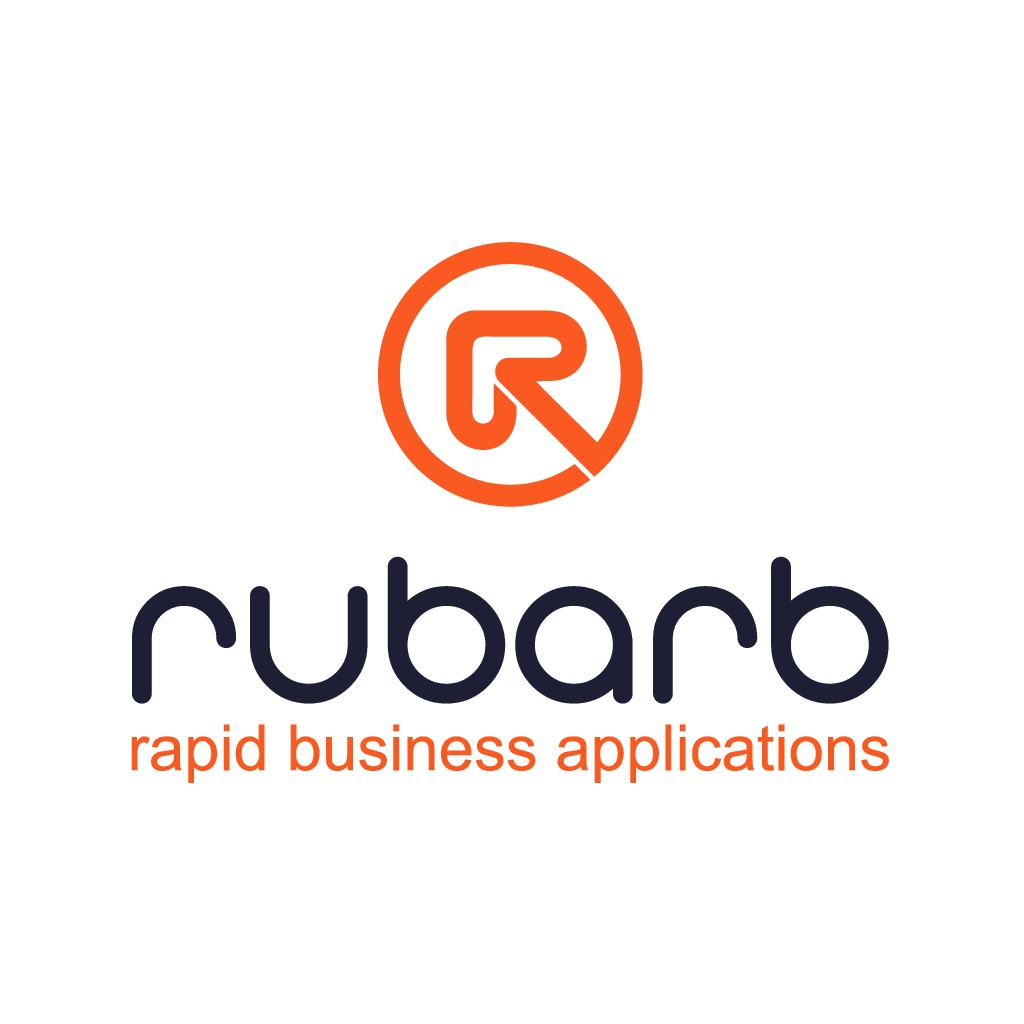 Give us a head start with a clean letter logo for Rubarb