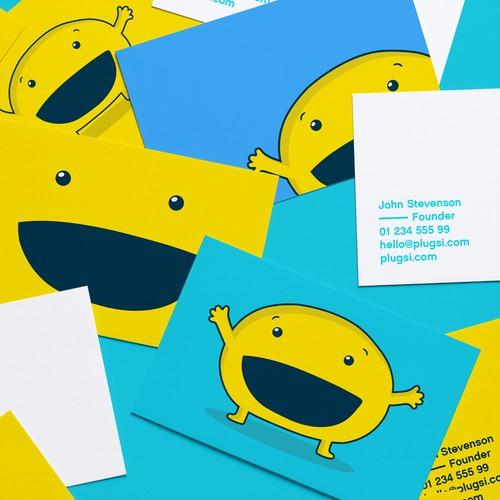 Plugsi business cards.
