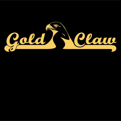 logo for gold panning company,