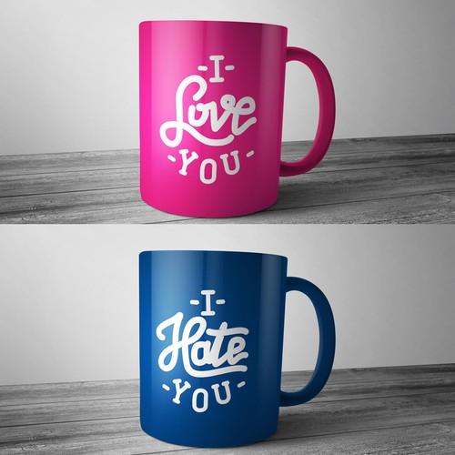Mug of love and hate