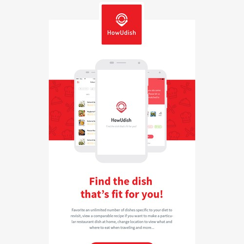 Application Email Template Design