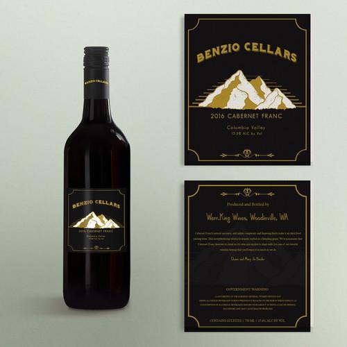 Label Design Benzio Cellars