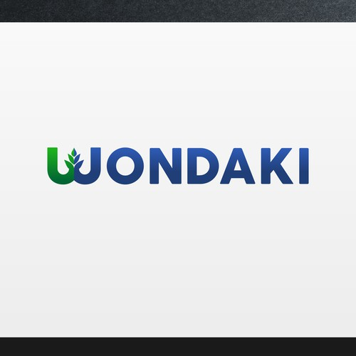 Modern logo design concept for Wondaki - Agricultural Consulting Company