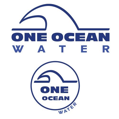 One Ocean water Logo