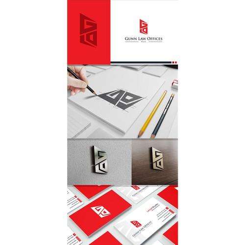 Create a brand/logo for Gunn Law Offices