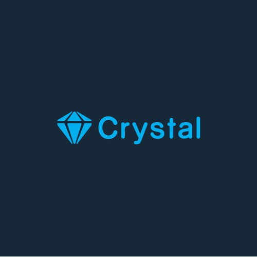 Create a fresh logo for Crystal