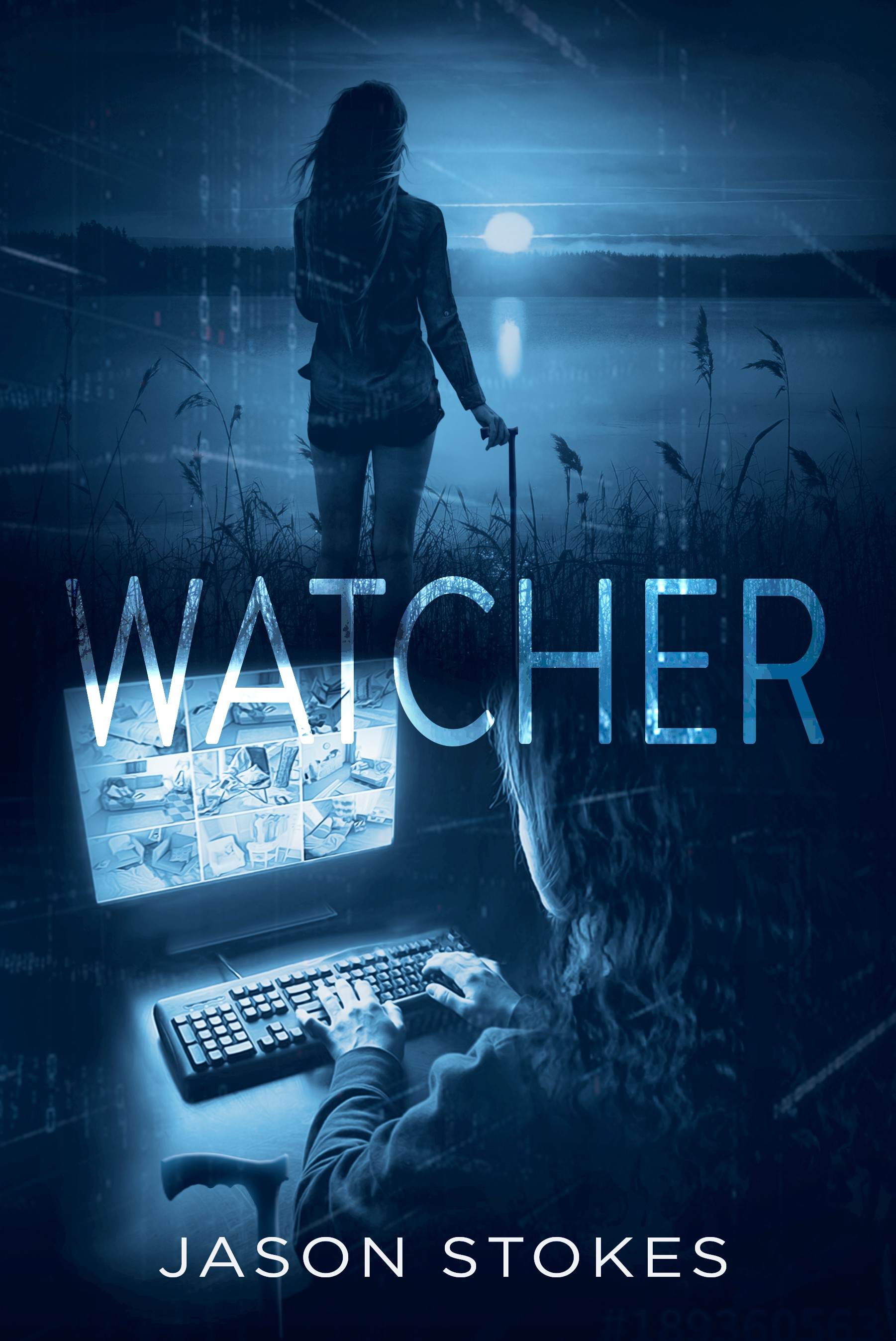 Design a cover for a Mystery/Thriller  'Watcher.'