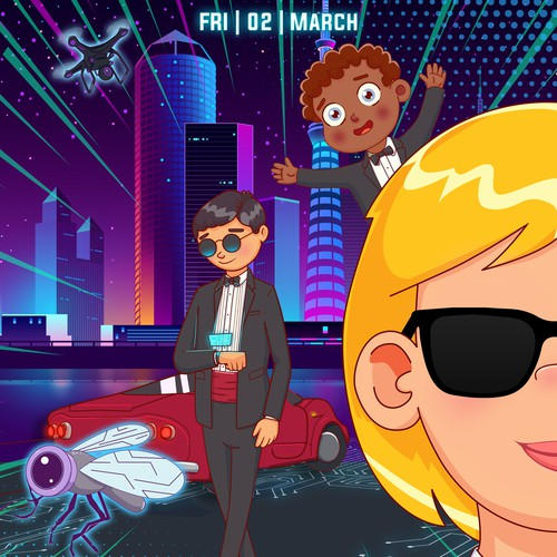 Spy Poster for Kids