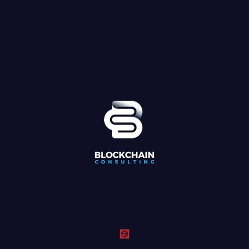 Bold logo for Blockchain
