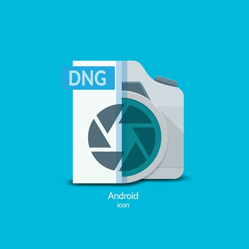 Android app icon for photo-file converter
