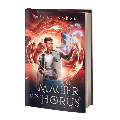 "Book Cover ""Die Magier des Horus"""