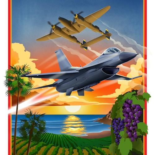 Centeral Coast Airfest 2019 Poster