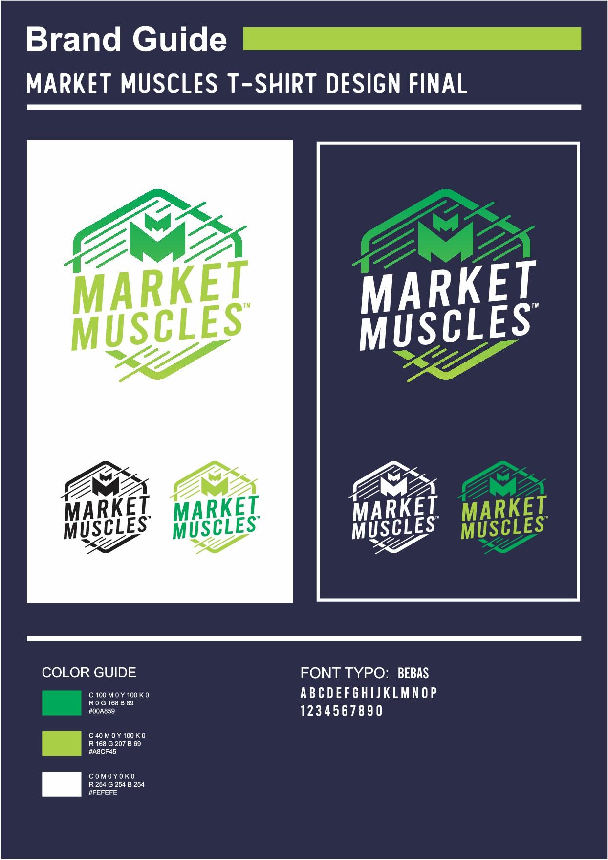 Guaranteed Winner - Trendy T Shirt Design for Market Muscles