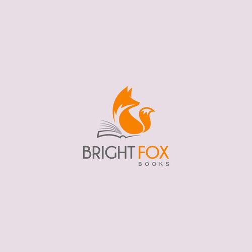 Fox logo concept for books selling agency