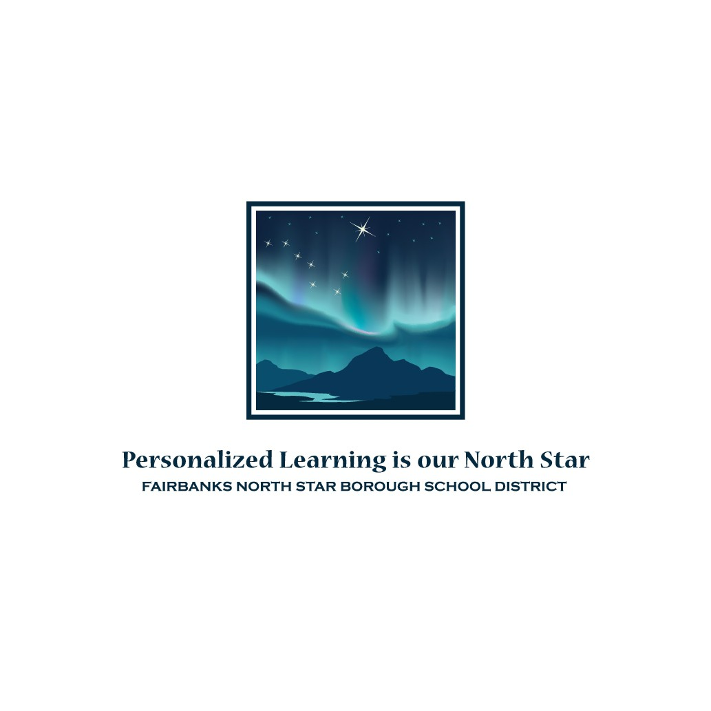 Students and Teachers in Alaska following the North Star