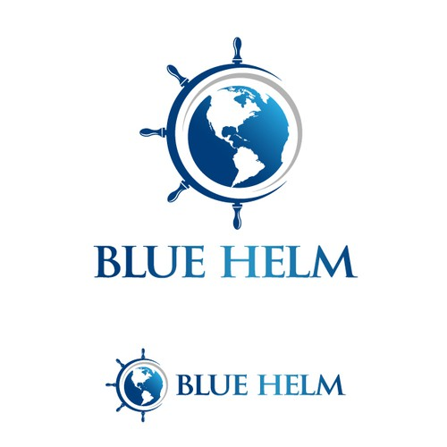 Blue Helm is looking for a sophisticated/clean logo for an Investment Management Company.