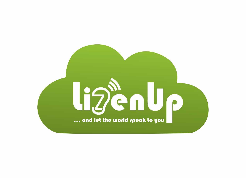 Logo for an community audio company