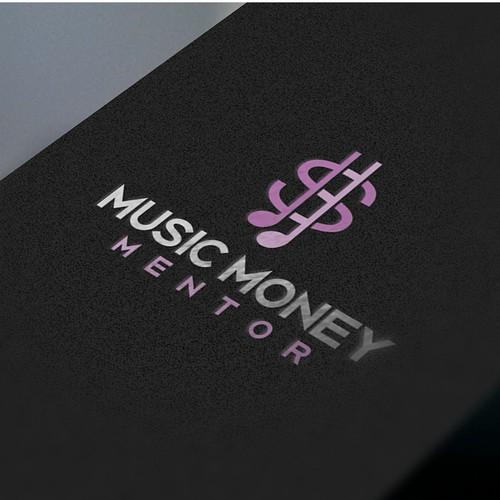 Logo for music money mentor