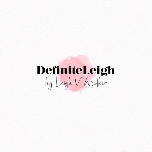 DefiniteLeigh Logo Contest