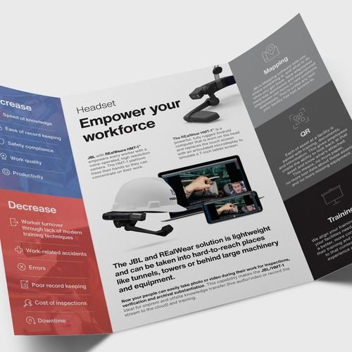 JBL Gate-fold Brochure
