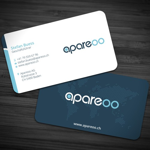 Business Card for Apareoo