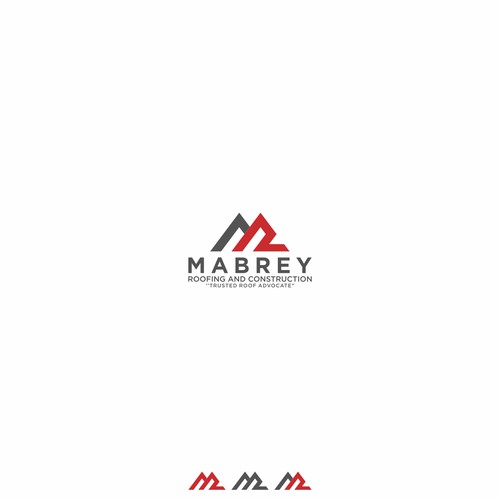 Design Hip Modern Roofing Company logo and after a Truck Wrap