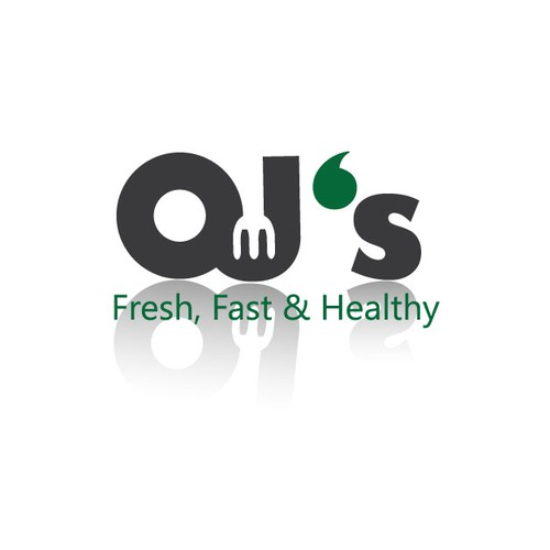Logo for OJ's restaurant