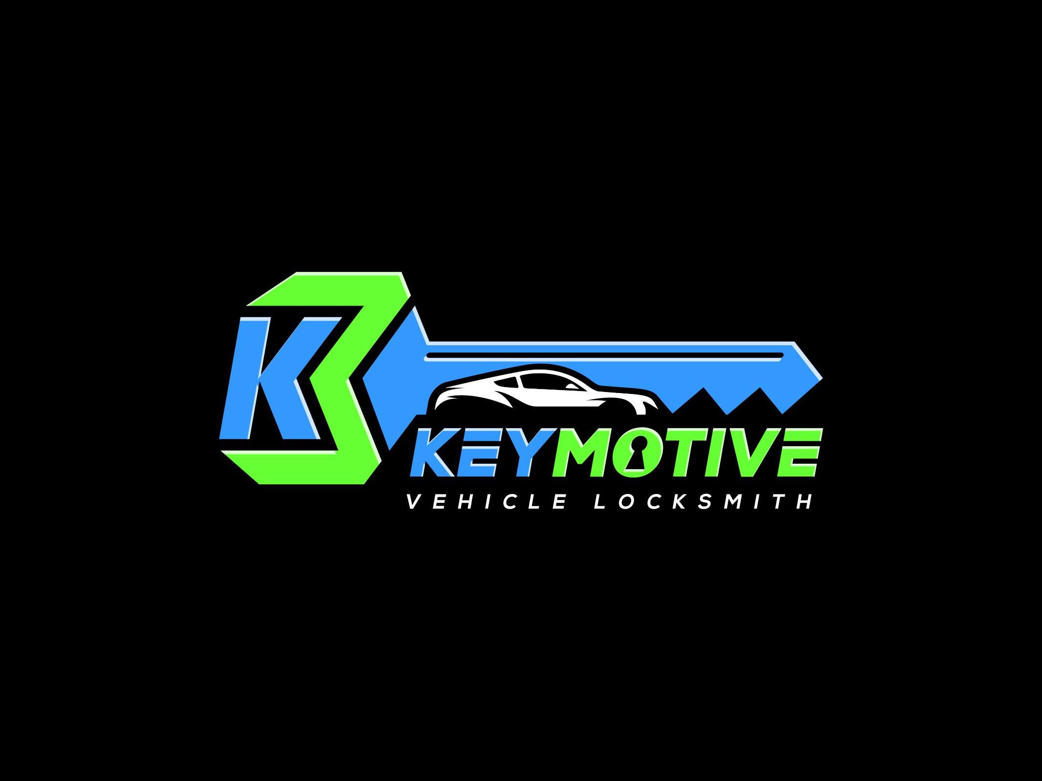 Design a BOLD modern logo for mobile locksmith, KeyMotive