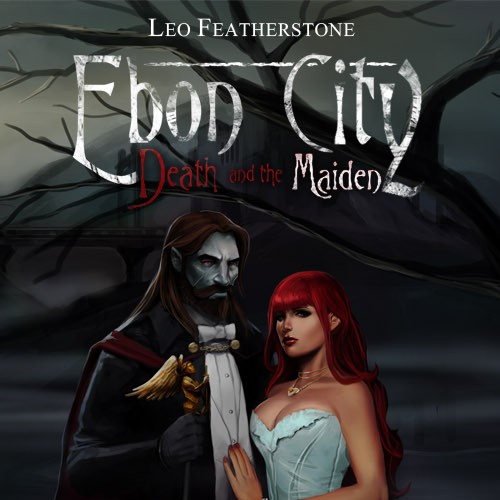 Ebon City: Death and Maiden Book Cover