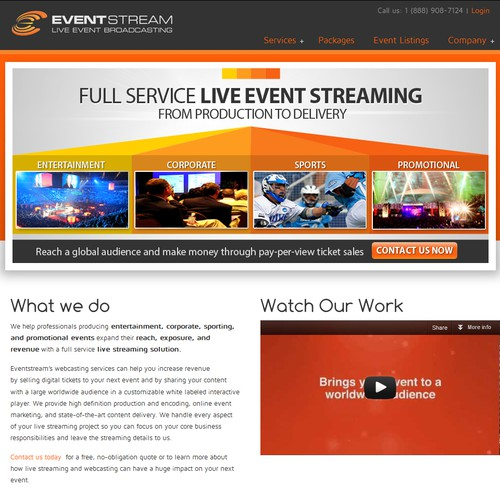 business or advertising for Eventstream