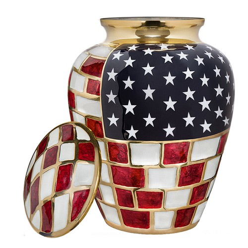 Urn for Veterans and Patriots