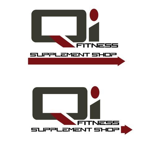 logo concept for fitness brand