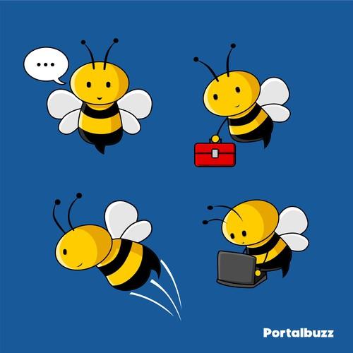 mascot design for portalbuzz