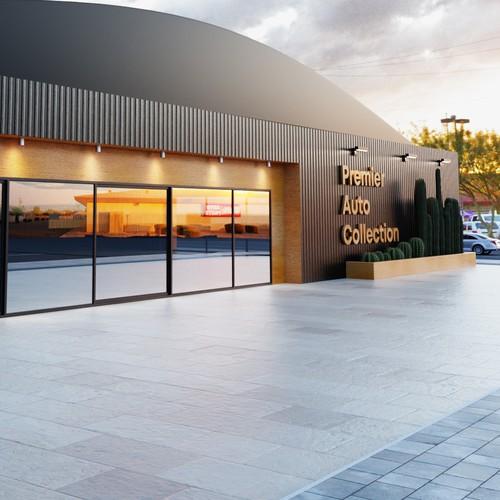 3D Render - Commercial Building